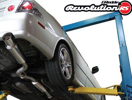GREDDY Revolution RS Cat-Back Lexus IS300