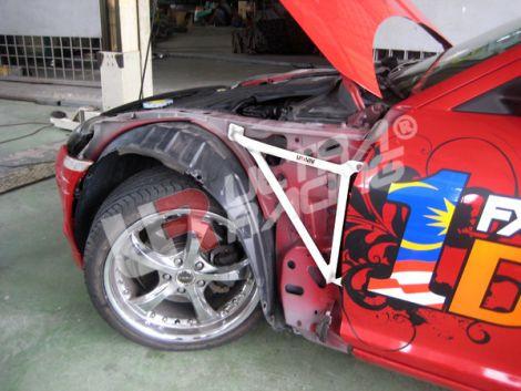 "UltraRacing ""Fender Brackets"" Set für Mazda RX-8"