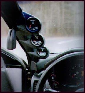 Lo-Tek A-Säulenhalterung 3-fach für Mitsubishi Eclipse D20/D22