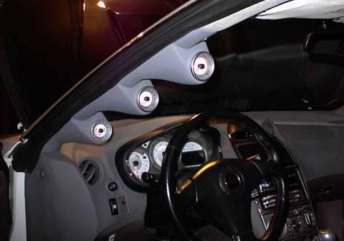 Lo-Tek A-Säulenhalterung 3-fach für Toyota Celica T23