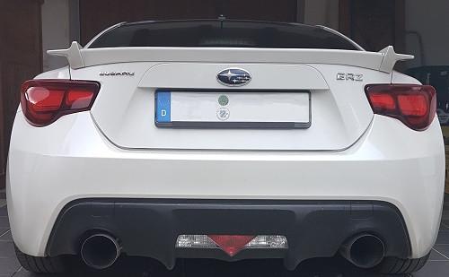 "DON SILENCIOSO ""ROAR"" Abgasanlage ab KAT für Toyota GT86 & Subaru BRZ"