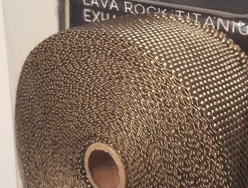 FUNK MOTORSPORT Lava Rock Titanium Hitzeschutzband
