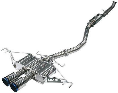 HKS Legamax Premium Abgasanlage Honda Civic Type-R FK8