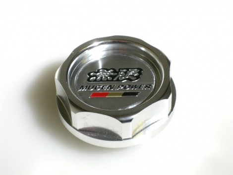 MUGEN Style Oil Cap Silver Honda S2000