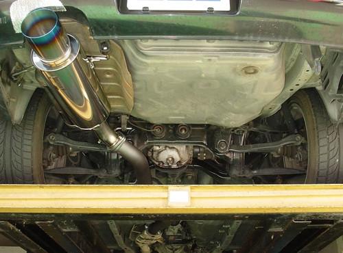 """HKS """"Hi-Power"""" Abgasanlage für Nissan 200SX S14"""