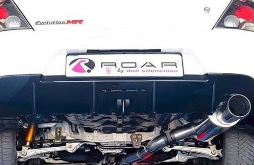 "DON SILENCIOSO ""ROAR"" Komplettanlage ab KAT Mitsubishi EVO 9"
