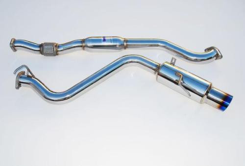 "INVIDIA ""N1 SINGLE"" Abgasanlage für Subaru Impreza WRX 08- Limo"