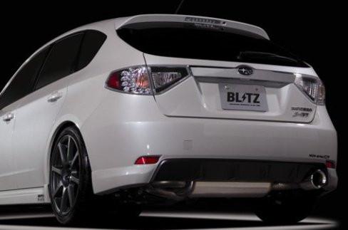 """BLITZ """"Nür Spec DT"""" Abgasanlage für Subaru Impreza WRX 08-10"""