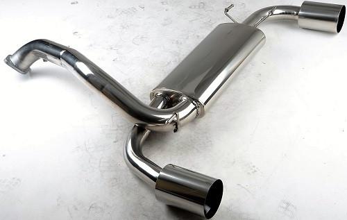 "DON SILENCIOSO ""ROAR"" Abgasanlage ab KAT für Mazda 3 MPS BL"