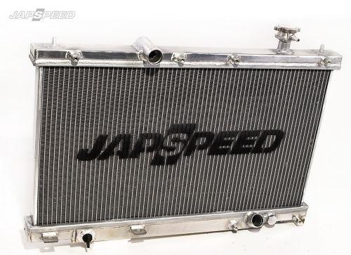 """JAPSPEED """"High Flow"""" Aluminium Wasser-Kühler für Honda Civic EP3"""