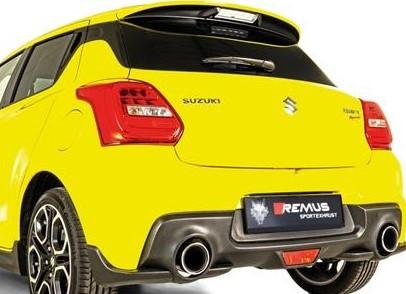 REMUS Komplettanlage ab Kat Suzuki Swift Sport AZ