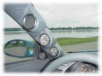 Lo-Tek A-Säulenhalterung 3-fach für Toyota Celica T18