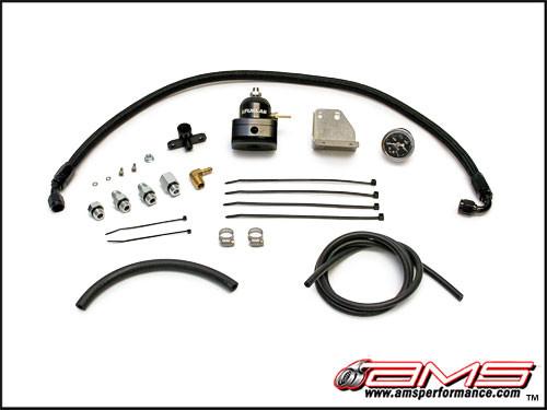"AMS ""Fuel Pressure Regulator Kit"" Mitsubishi EVO X"