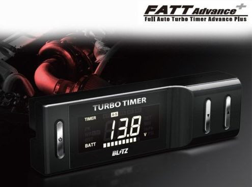 "BLITZ ""FATT Advance +""  Turbo Timer"