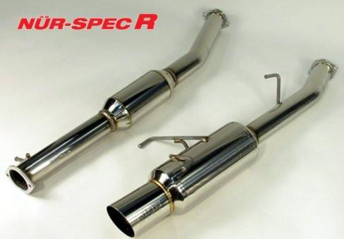 """BLITZ """"Nür Spec R"""" Abgasanlage für Nissan 200SX S14"""