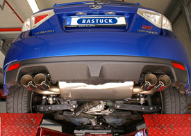 BASTUCK Abgasanlage für Subaru Impreza WRX STi 08-10