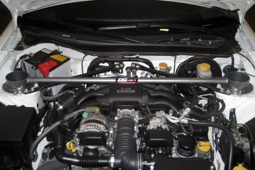 "DC Sports ""Carbon Steel"" Domstrebe für Toyota GT86 & Subaru BRZ"