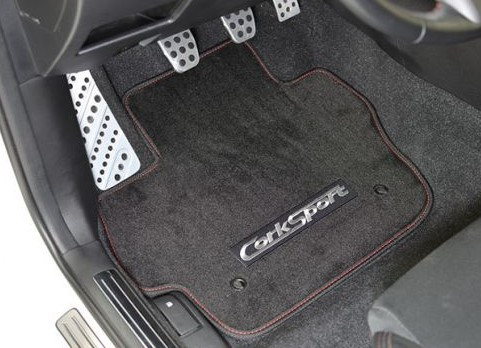 "CORKSPORT ""Carpet Floor Mats"" Mazda 3 MPS BL Fußmattenset"