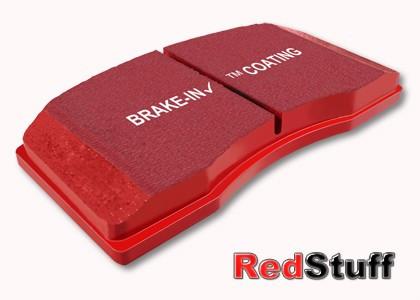 EBC Redstuff Bremsbeläge HA für Honda Civic Type R EP / FN / S2000