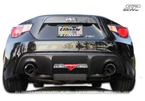 """GREDDY """"SP Elite"""" Sport-Endschalldämpfer für Toyota GT86 & Subaru BRZ"""