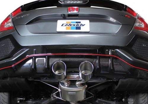 "GREDDY ""SP Supreme Cat-Back"" Abgasanlage Honda Civic FK8 Type-R 2017-"