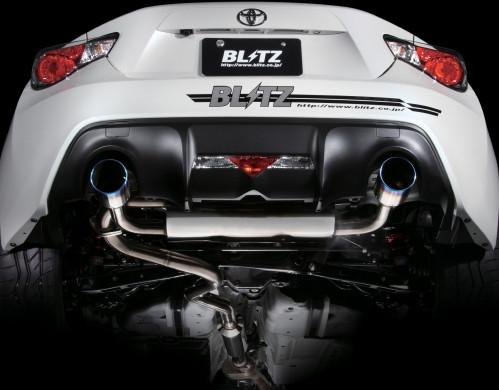 """BLITZ """"Nur Spec CTI"""" Abgasanlage für Toyota GT86 & Subaru BRZ"""