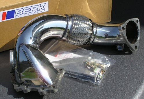 BERK Downpipe für Toyota Celica ST205 & MR2 Turbo Gen.III