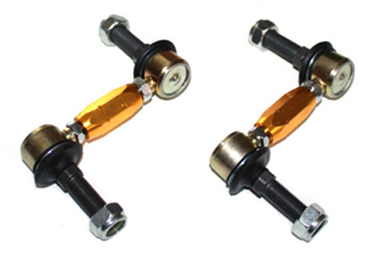 """Whiteline """"Sway bar link kit heavy duty adj steel ball"""" VA Nissan 350Z"""