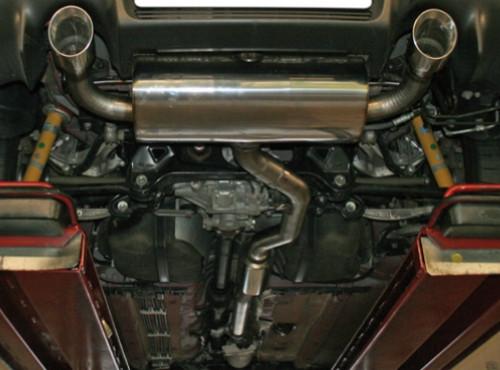 BASTUCK Abgasanlage ab KAT für Mitsubishi EVO X