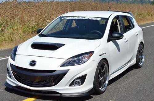 CORKSPORT Frontlippe für Mazda 3 MPS 2010-2013