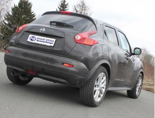 FOX Sportendschalldämpfer für Nissan Juke Turbo