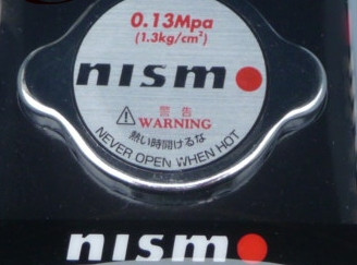 "NISMO ""Racing Radiator Cap"" für Nissan"