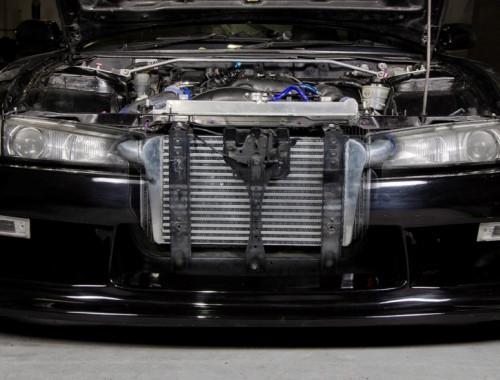 "JAPSPEED ""Drift V2"" Ladeluftkühler Kit für Nissan 200SX S14"