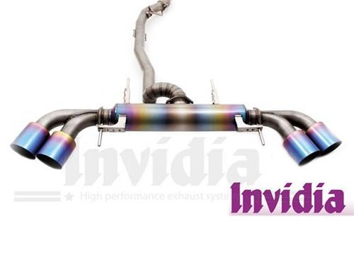"""INVIDIA """"Titanium Cat-back"""" Abgasanlage für Nissan R35 GT-R 09-"""