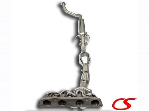 Circuit Sports Fächerkrümmer + Sport-KAT + Mittelrohr für Toyota Celica T23