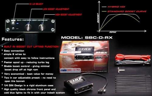 "HDI ""Electronic Boost Controller"" Type RX Subaru Edition"