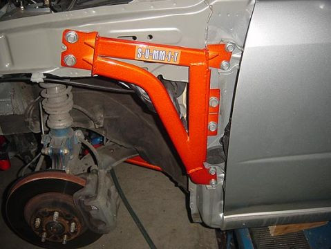"Summit Racing ""Fender reinforcement brace"" Nissan 200SX S14"