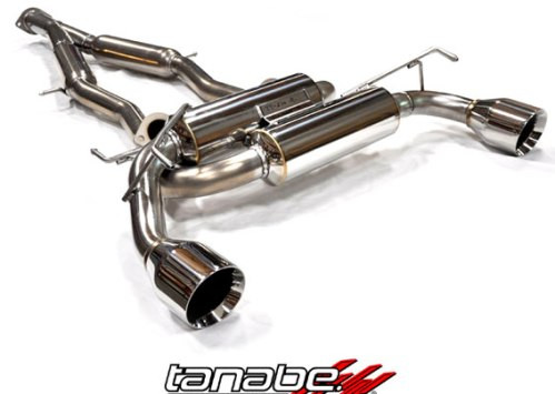 """TANABE """"Medalion Touring"""" Abgasanlage für Nissan 370Z"""