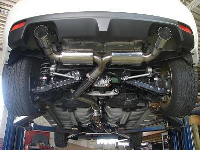 "ULTIMATE Racing ""Cat Back"" Edelstahl Abgasanlage für Subaru Impreza WRX/STi 08-"
