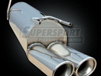 SUPERSPORT Sport-Endschalldämpfer für Mazda 3 BK 03-09