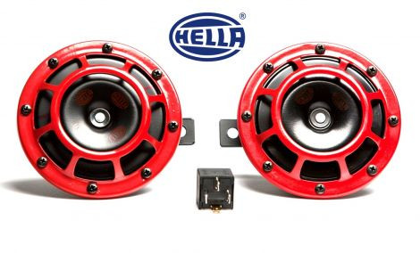 "HELLA ""Supertone Horn 118db"" Set"
