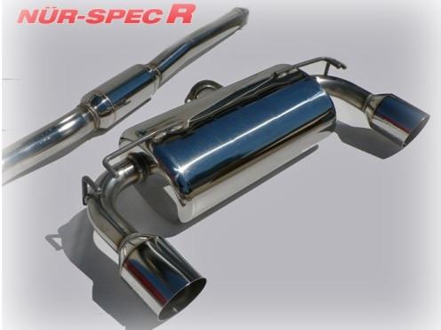 """BLITZ """"Nür Spec R"""" Abgasanlage für Mitsubishi EVO X"""