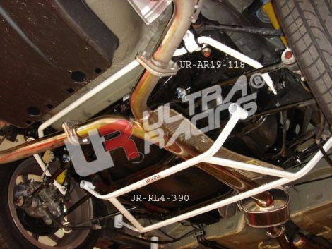 "UltraRacing ""4-Point Rear Lower Brace"" Honda Accord 03-08"