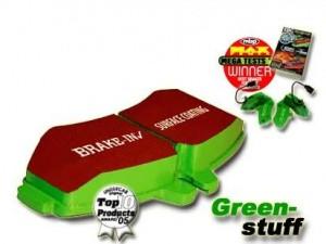 "EBC Sport-Bremsbeläge ""Greenstuff""  für VA Toyota MR2 W2/SW20"