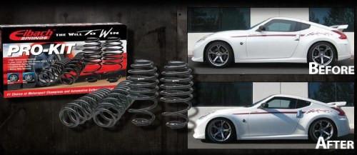 Eibach Sportfedern für Nissan 370Z Z34