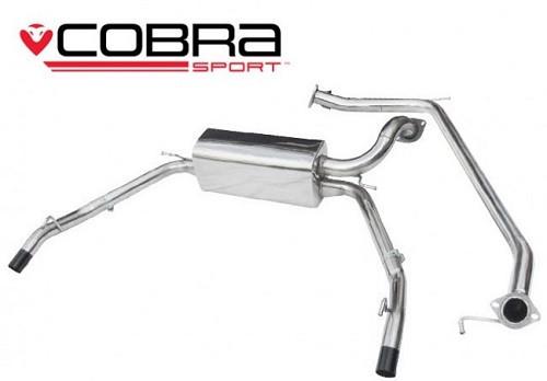 """COBRA """"Cat Back"""" Non-Resonated Abgasanlage für Honda Civic Type R FN2"""