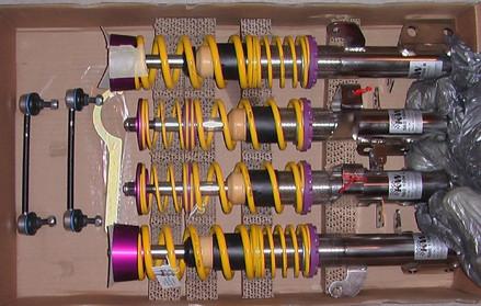 KW Gewindefahrwerk Variante 3 für Toyota MR2 W2/SW20