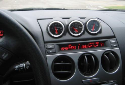 Lo-Tek Anzeigenhalterung für Mazda 6 MPS