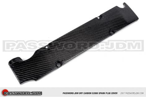 "Password:JDM Carbon ""Spark Plug Cover"" Honda S2000"