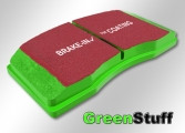 "EBC Sport-Bremsbeläge ""Greenstuff"" für HA Toyota MR2 W2/SW20"